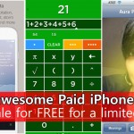 6 awesome paid iPhone apps on sale for FREE for a limited time