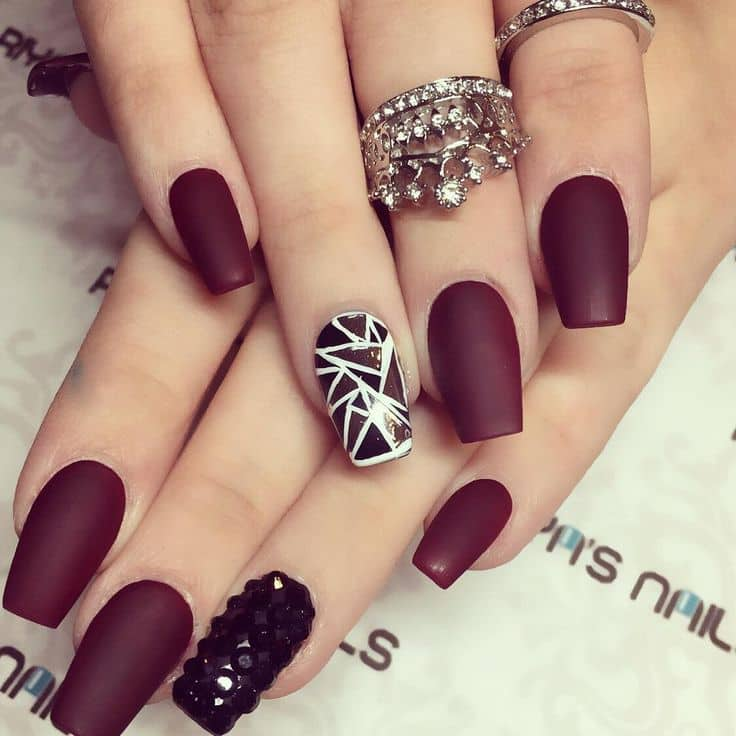 trendy nail art1113 Latest Trends in Nail Art for 2018