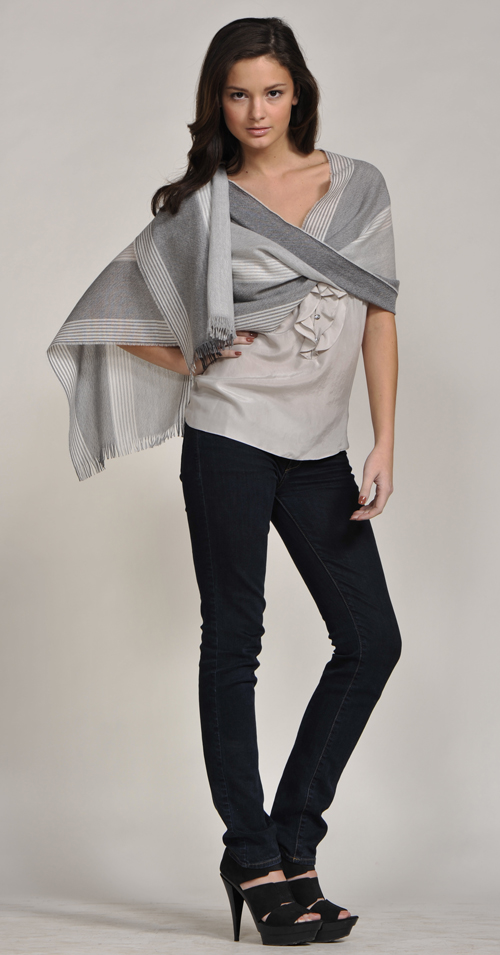5. Johnstons Shawls Scarves for winter Trendy ways to wear a scarf