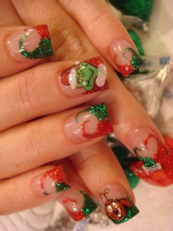 New Christmas Nail Art