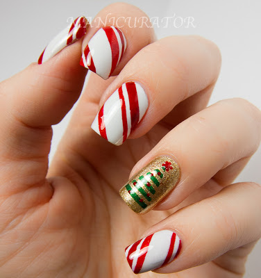 Christmas light Nails