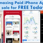 8 Amazing Paid iPhone Apps on sale for Free Today