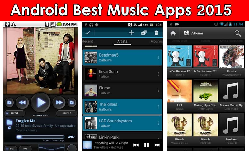 Android Best Music Apps 2015