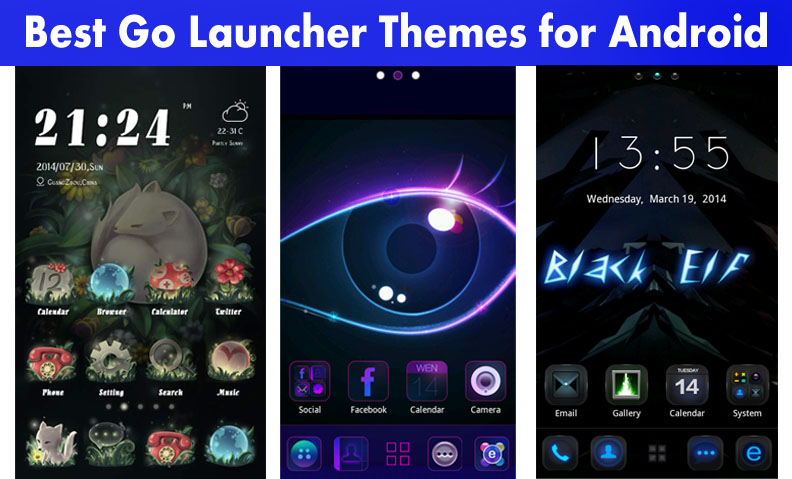 Best Go Launcher Themes for Android