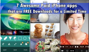7 Awesome Paid iPhone apps that are Free for a Limited Time