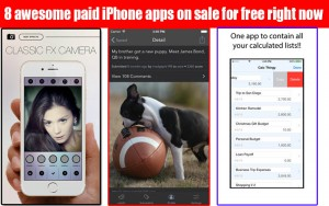 8 Awesome Paid iPhone apps on sale for FREE right now