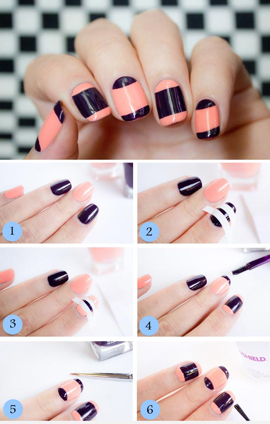 Beautiful Nail Art Step By Step