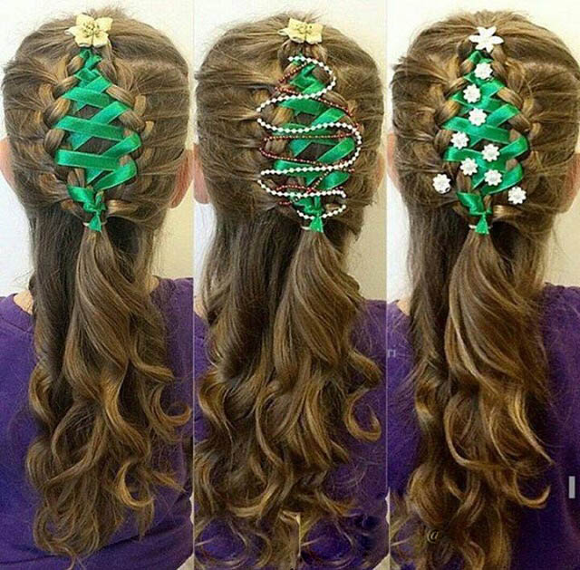 Christmas Hairstyles for Kids